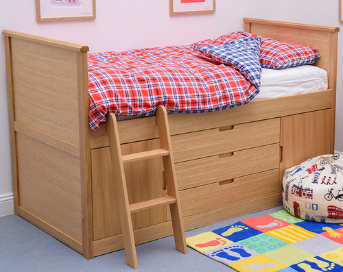 Treehouse Furniture Oakhouse Cabin Bed