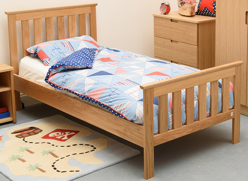Treehouse Furniture Oakhouse Spoke Bed