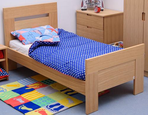 Treehouse Furniture Oakhouse Adult Childrens Oak Single Bed