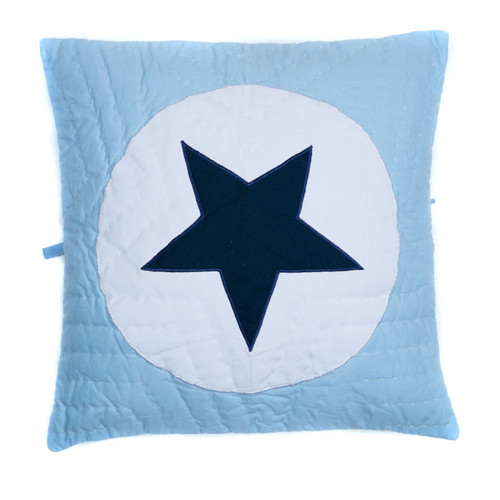 NEW Blue Star Cushion