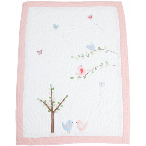 Lovebird Quilt - Cotbed
