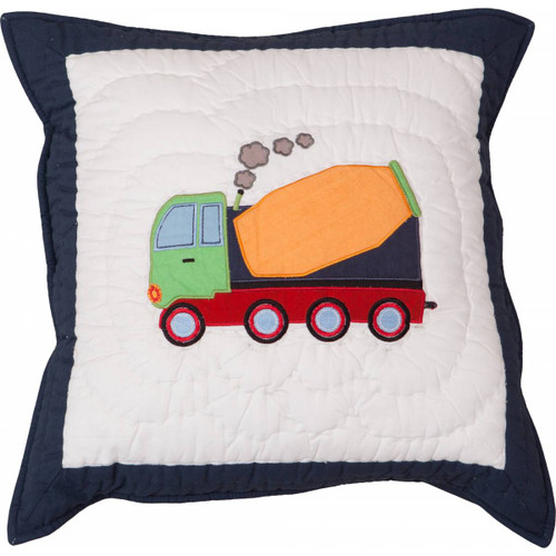 Trucks and Diggers Cushion