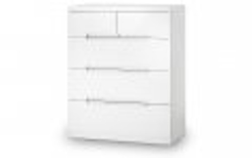 Olivia Chest of Drawers 3+2
