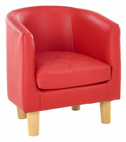 An image of Quilted Tub Chair