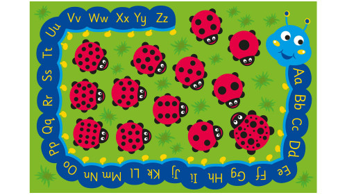 An image of Back to Nature™ Chloe Caterpillar Numeracy & Literacy Outdoor Play™ Mat