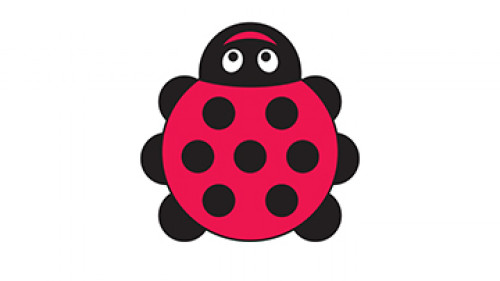 An image of Back to Nature™ Ladybird Shaped Outdoor Mat