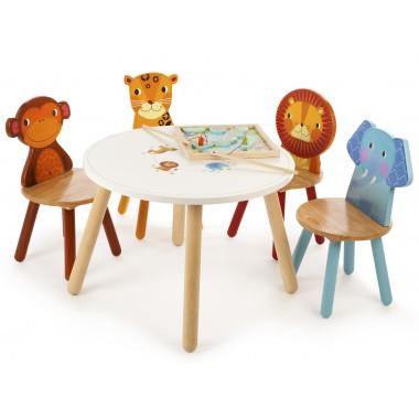 An image of Safari Table and 4 Chairs