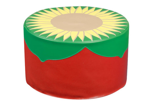 An image of Back to Nature Sunflower Pouf