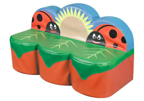 An image of Back to Nature Ladybird 3 Seat Sofa