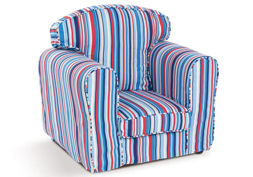 An image of Sky Stripe Armchair