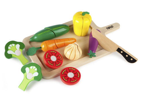 An image of Cutting Vegetables Set