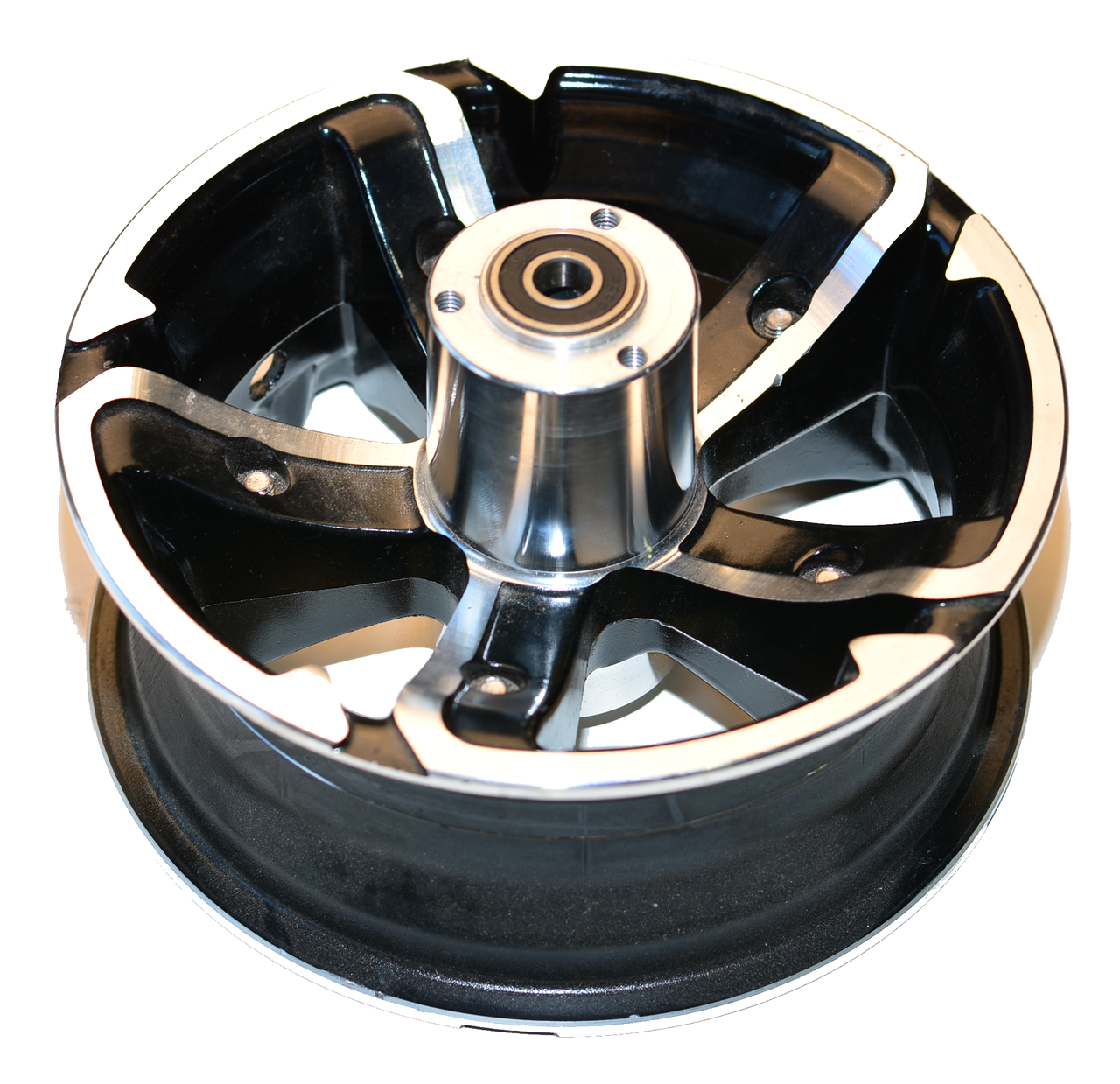 "Factory Front 6.5"" two piece rim (Black) Hyper-Racing Scooter"