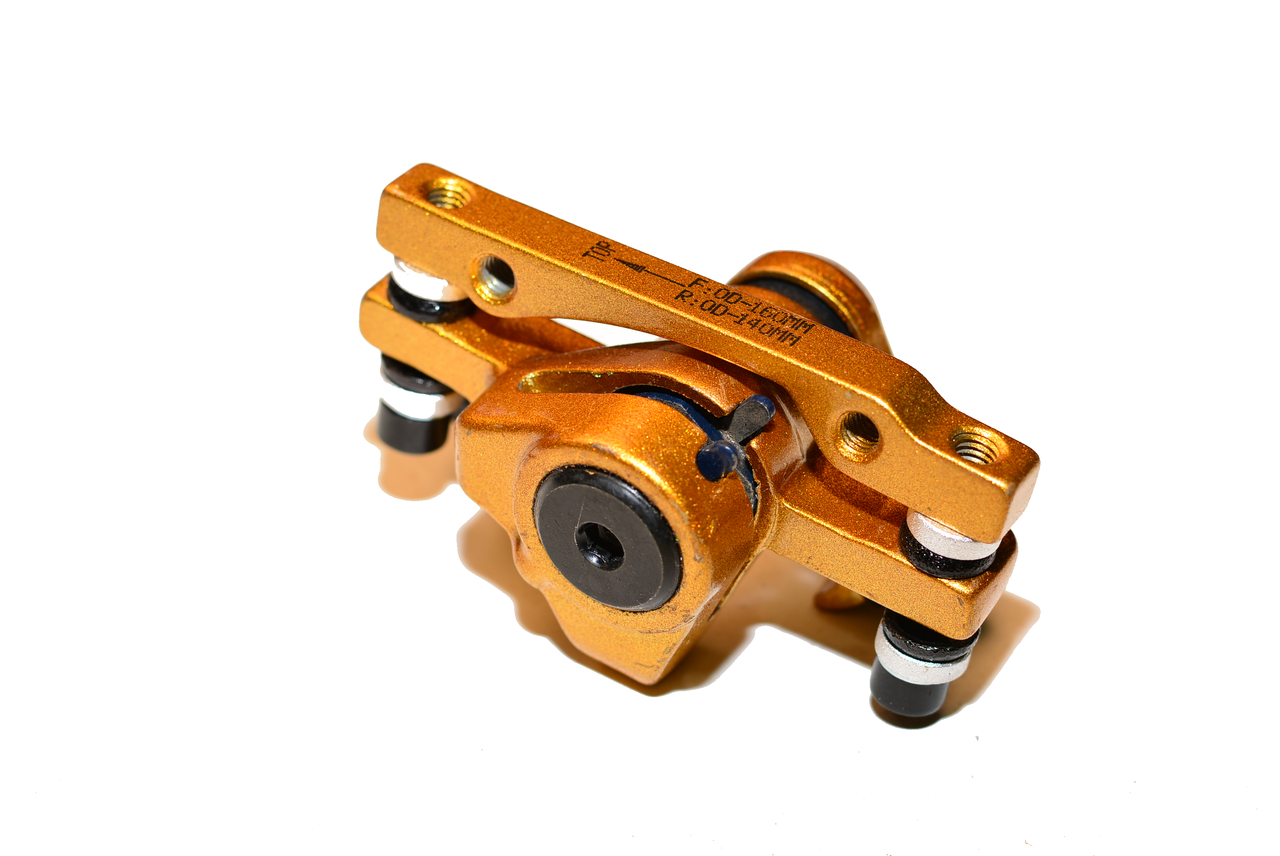 Gold Edition Front or Rear Brake Caliper Type 1