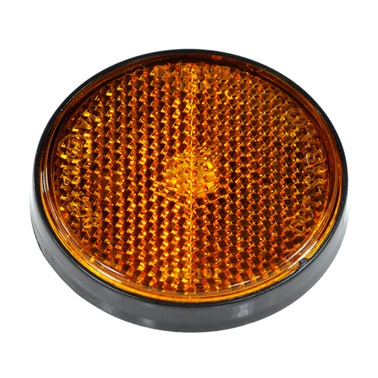 Amber  Yellow  Front Side Reflector For Scooter