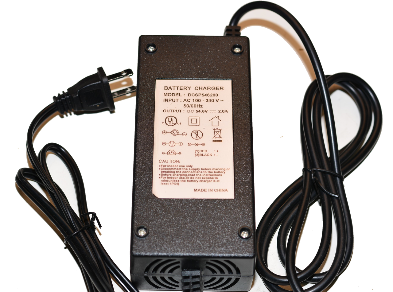 Replacement 48v Lithium Battery Fast Charger W/Fan (3 pole)