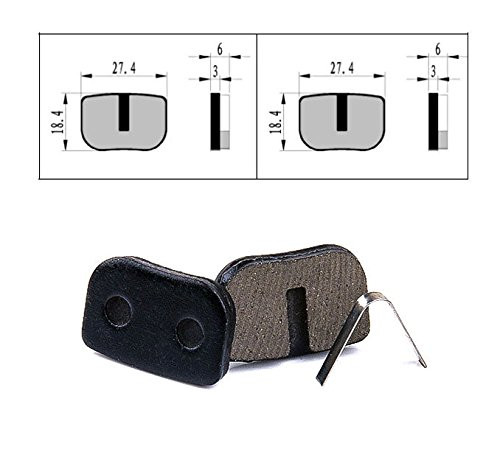 "BOLI Replacement Brake Pads for (10"" Wheel Scooter)"