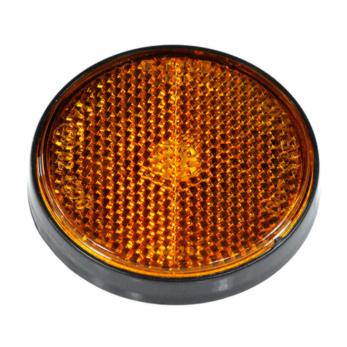 Amber (Yellow) Front Side Reflector for Scooter