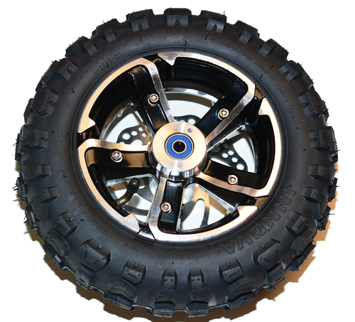 "Complete Factory Front Off Road 6.5"" Wheel (Black) Hyper-Racing 2000w 2 Piece Wheel"