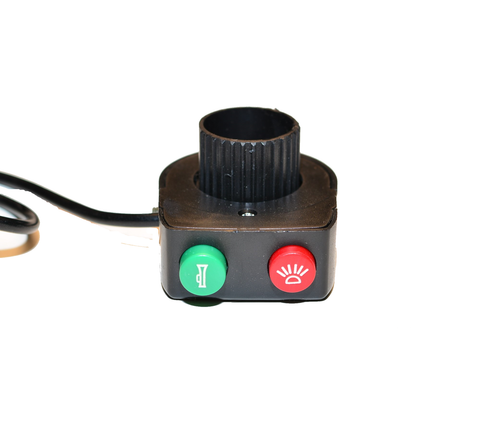 Horn and Light Switch Button for Hyper Racing 1800/2000 Hard Wire