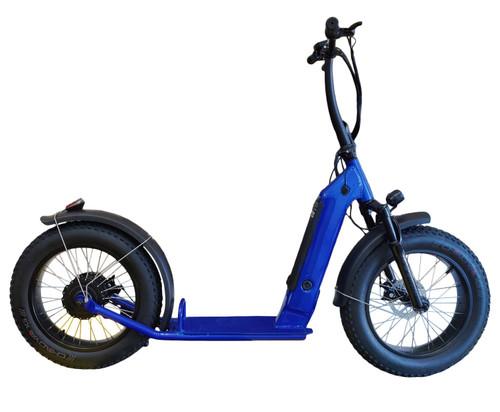 NEW! 2020 500W DGW Brushless with gear(Shengyi) Electric Bike Fat Bike 7 Speed (Blue)****FREE SHIPPING USA****