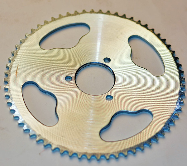 Replacement Rear Sprocket for Hyper Racing 1600w Scooter 4 bolt for Free Wheel Hub (Only)