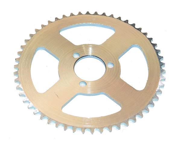 """Replacement Rear 3 bolt Sprocket for Hyper Racing 1800/2000w Scooter 3 bolt (10""""Wheels)"""