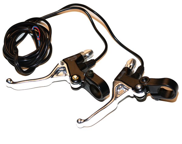 Replacement Brake Levers for Hyper Racing 1800/2000w (Chrome)