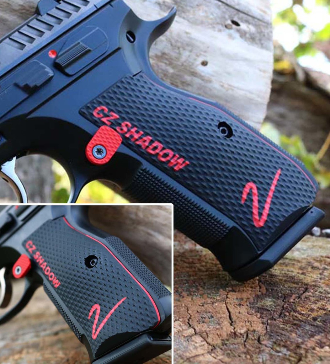 CZ Shadow 2 Palm Swell Roughnecks - Color-Fill Engraved