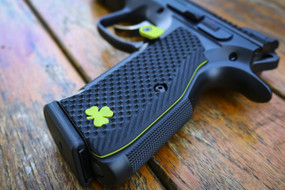 Shadow 2 G10 Mag Release Button - LOK Grips