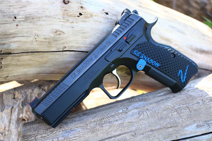 CZ Shadow 2 Palm Swell Bogies - Color-Fill Engraved