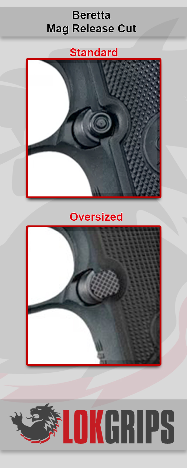 Is Your Mag Release Button Oversized or Standard Option