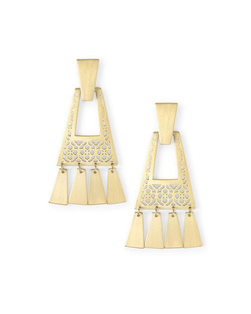 Kase Gold Fringe Earrings