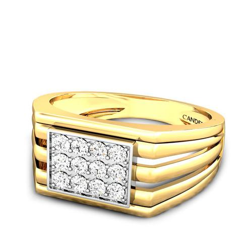 CHESTER DIAMOND WEDDING BAND FOR HIM