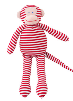 Musical Monkey - 34cm Red Stripe 'Let It Be'
