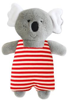 Koala Toy Rattle 23cm - Red