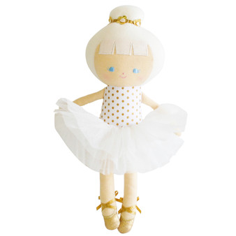 Baby Ballerina Doll 25cm - Gold Spot