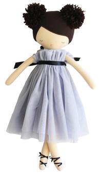 Ruby Pom Pom Doll 48cm Lavender