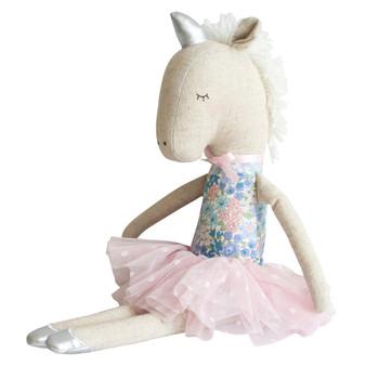 Yvette Unicorn Doll 43cm Liberty Blue