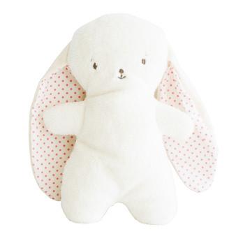 Snuggle Bunny 20cm Spot Pink
