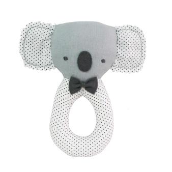 Baby Koala Grab Rattle Grey