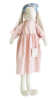 Sofia Bunny 70cm Pink Linen