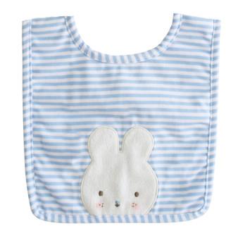 Baby Bunny Bib Blue