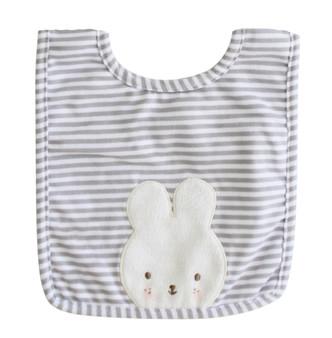 Baby Bunny Bib Grey