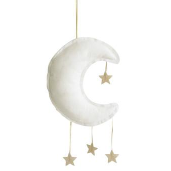 Linen Moon Mobile 27cm Ivory