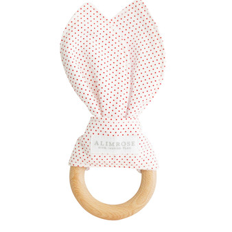 Bailey Bunny Teether Red Spot