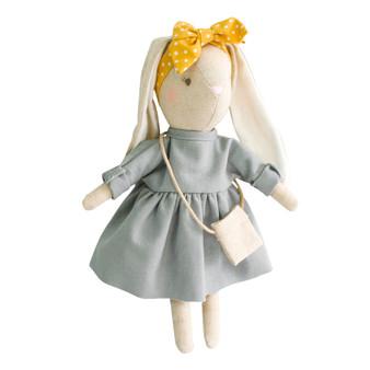 Mini Sofia Bunny 27cm Grey