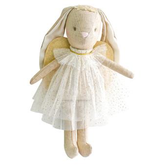 Mini Angel Bunny 27cm Ivory