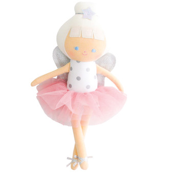 Bella Baby Fairy 27cm Silver Spot