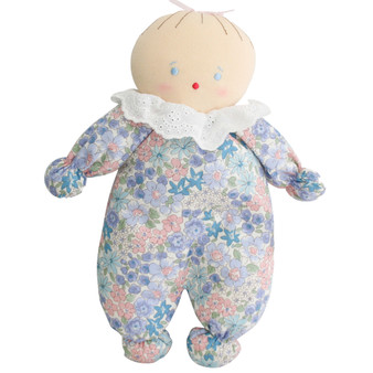 Asleep Awake Baby Doll 24cm Liberty Blue