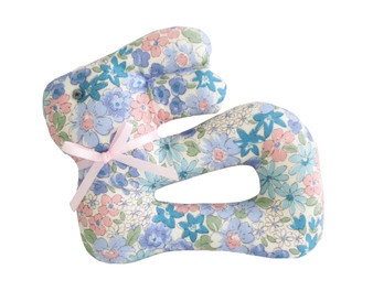My First Bunny Rattle Liberty Blue